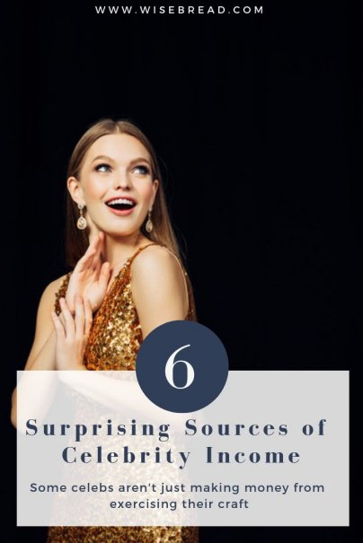 6 Surprising Sources of Celeb Income