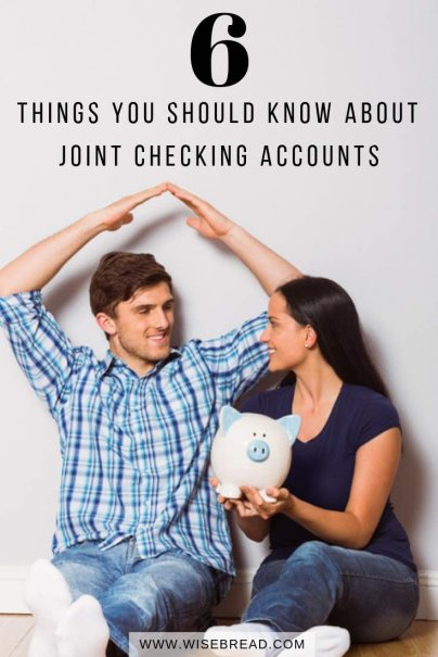 Joint checking accounts offer convenient money management for relationships. However there can be issues, such as hurting your credit score, affecting eligibility for financial assistance and more. Here are six issues you need to think through | #moneymatters #personalfinance #jointaccount #banking