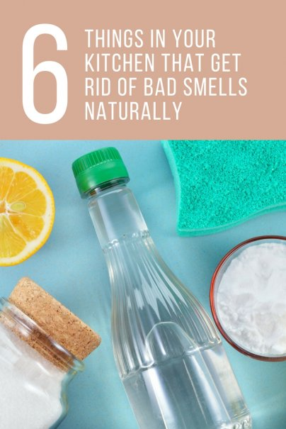 6 Things in Your Kitchen That Get Rid of Bad Smells Naturally