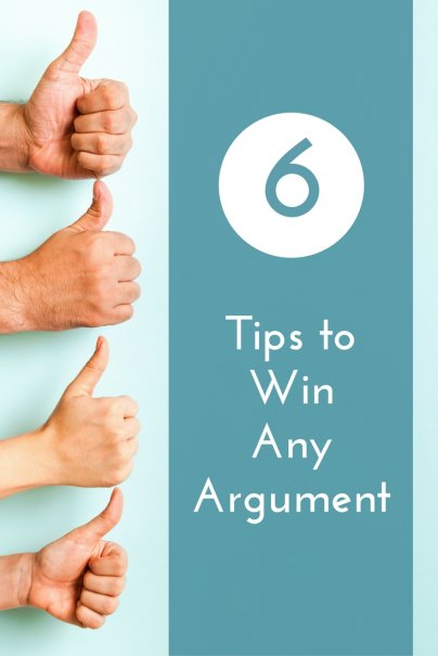 6 Tips to Win Any Argument