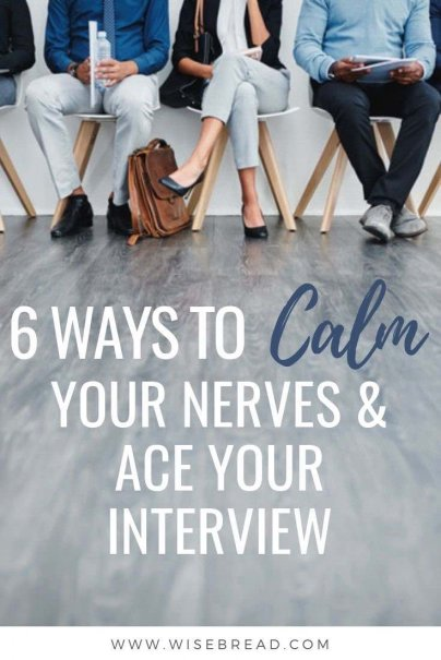 Don't let your interview nerves sabotage your chances. Use these tips to make sure you get the big break you deserve — and give interview anxiety the boot. | #careertips #interviewtips #jobinterview