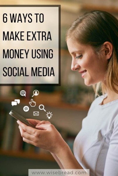 6 Ways to Make Extra Money Using Social Media