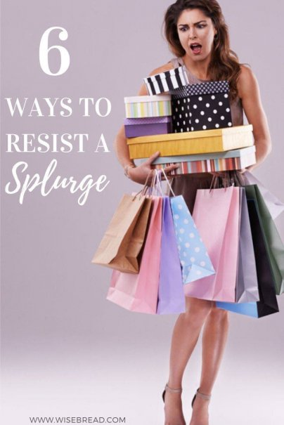 Do you love shopping but not the spending? Here are some ideas to help you turn your spending around, and ultimately resist the urge to splurge. | #financetips #budgeting #moneysaving