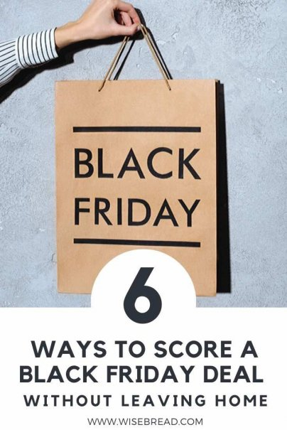 Here are a few unique ways to save money on Black Friday without ever having to leave the comfort of your pajamas. | #blackfriday #shopping #savemoney