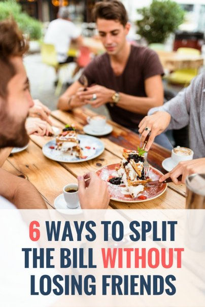 6 Ways to Split the Bill Without Losing Friends