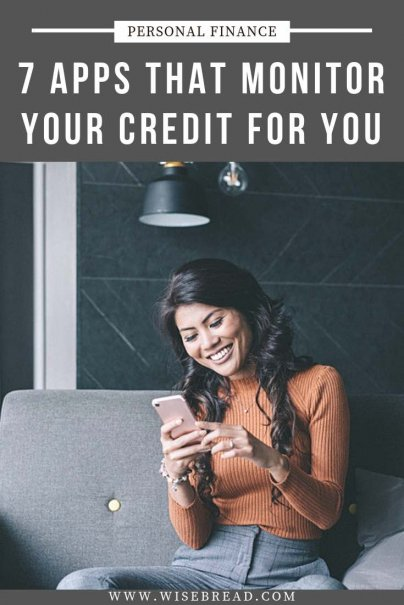 Did you know that there are apps that can monitor your credit score? We've listed and reviewed the best free and easy to use apps available for giving your credit score a boost. | #moneyapps #personalfinance #moneymatters