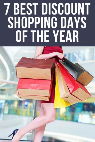 7 Best Discount Shopping Days of the Year