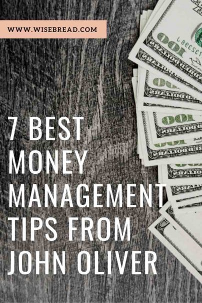 John Oliver is actually a pretty solid source for financial tips. If you haven't had a chance to watch all of John Oliver's money-related episodes, here are my favorite financial funnyman's seven best money management tips! | #johnoliver #moneytips #financialadvice