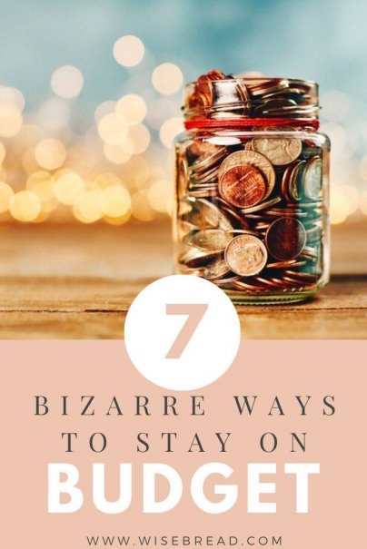 If the traditional ways of staying on budget aren't working, you may have to resort to more drastic measures. Here are a few tips that are so crazy, they just might work. | #budget #budgethacks #moneysaving