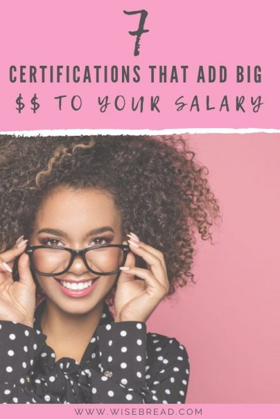 Want to know how to increase your salary? We've got the tips to get more money by doing certain certifications. Get ready to advance in your career! | #careeradvice #salaryincrease #personalfinance
