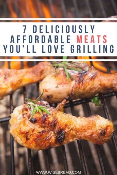 Did you know that there are some delicious affordable and cheap meats that taste great grilled. We've got a list that'll help you stay frugal while cooking for your friends. | #grilledmeats #cheapmeats #frugalfood