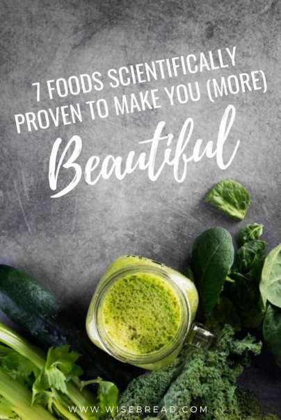 Our diet plays a strong role in how we look and feel. These seven foods will do make you feel and look more beautiful. | #beautiful #beautyfood