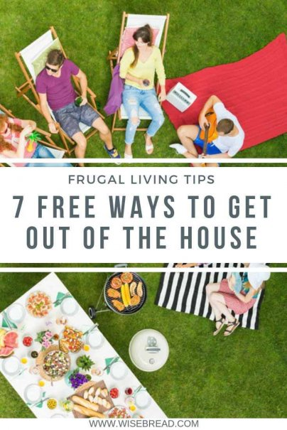 Got some time off and on a budget? There are plenty of free and frugal ways to get out of the house and have fun! Check out these activities you can do, that will make sure you can keeping saving money. | #freeactivities #cheapfun #frugalfun