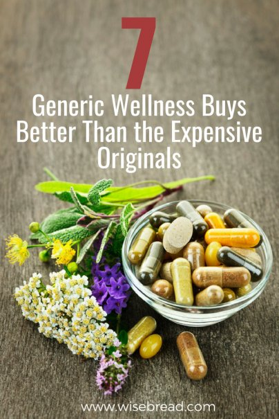 7 Generic Wellness Buys Better Than the Expensive Originals