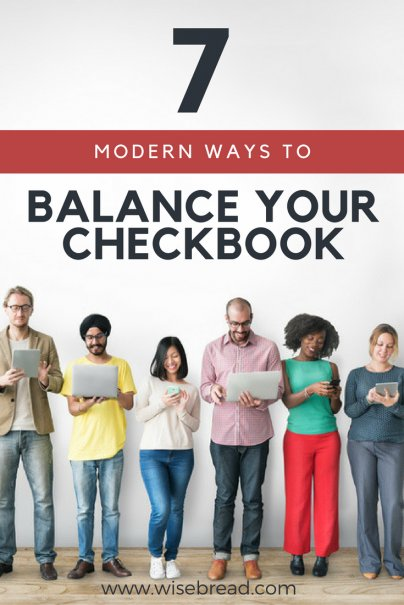 7 Modern Ways to Balance Your Checkbook