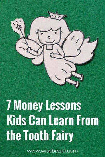 7 Money Lessons Kids Can Learn From the Tooth Fairy