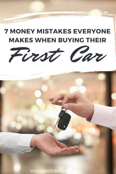 It's easy to make money mistakes anytime you buy a car - but your first car is especially risky. Here are some expensive first-time car buying mistakes and how to avoid them. | #moneymatters #personalfinances #firstcar