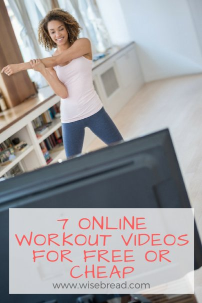 7 Online Workout Videos for Free or Cheap