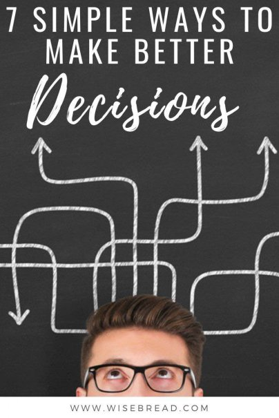 For bigger or more meaningful decisions, however, decision paralysis can really hurt your life's trajectory. Here's how to start making better decisions, faster. | #decisionmaking #decisions #lifehacks