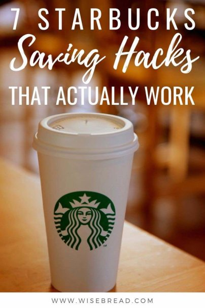 Starbucks doesn't have to be expensive if you can incorporate some clever money-saving hacks into your coffee routine. Check how you can be budget friendly with your coffee habit! | #starbucks #moneysaving #budget