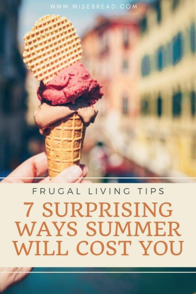 Summer comes with expenses — higher-priced fuel fill-ups, increased electricity bills from running the A/C nonstop, and sky-high hotel rates. But here are some of the hidden things that you will be spending more money on. | #summer #savemoney #moneymatters