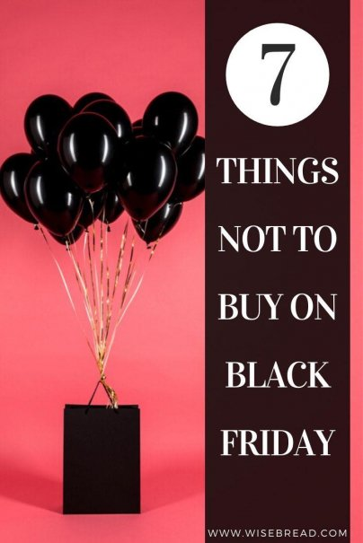 "Black Friday shoppers go berserk for big deals, and deep discounts, but all may not be as it seems. Take a look at these typical Black Friday ""best buys"" that are anything but to help stretch your budget and keep your sanity in check. 