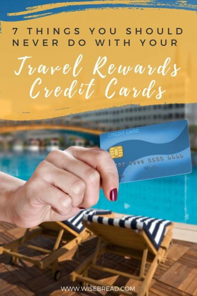 Rewards credit cards dole out points when you make a purchase with your card. Then you redeem them for free or discounted travel. But there are plenty of pitfalls to watch out for. You can end up with expired or useless points, or worse, debt. Here are 7 mistakes to avoid! #rewardscard #travel #creditcards #mistakes