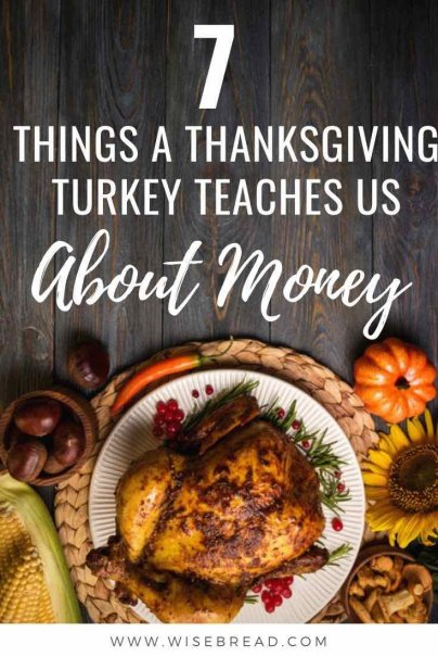 But, there are a number of ways a thanksgiving turkey can give us insights into the economy, and our own financial situations.Here are a few lessons to teach us about money. | #thanksgiving #personalfinance #financetips