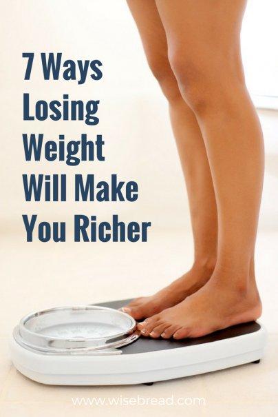 7 Ways Losing Weight Will Make You Richer