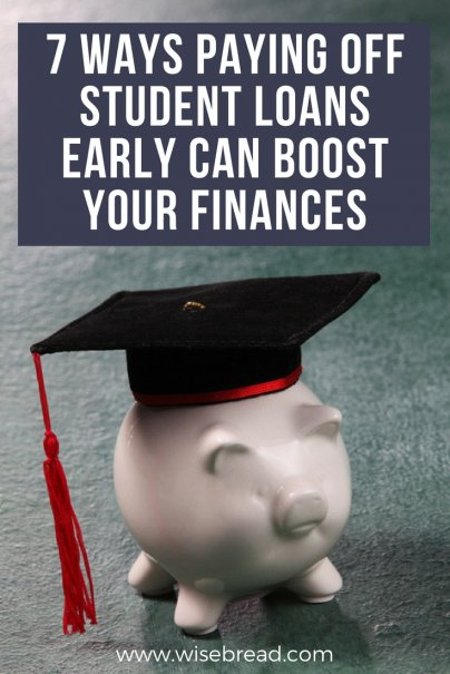 7 Ways Paying Off Student Loans Early Can Boost Your Finances
