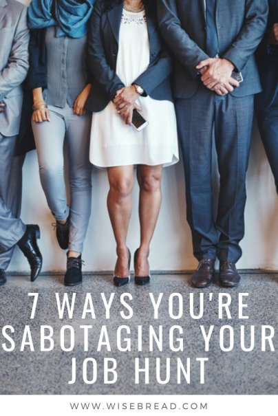 Sometimes, job seekers sabotage themselves before they even get to the interview stage. If you're applying for jobs but not getting a call back, you could be unknowingly sabotaging your job hunt with these bad moves. | #careeradvice #jobsearch #jobtips