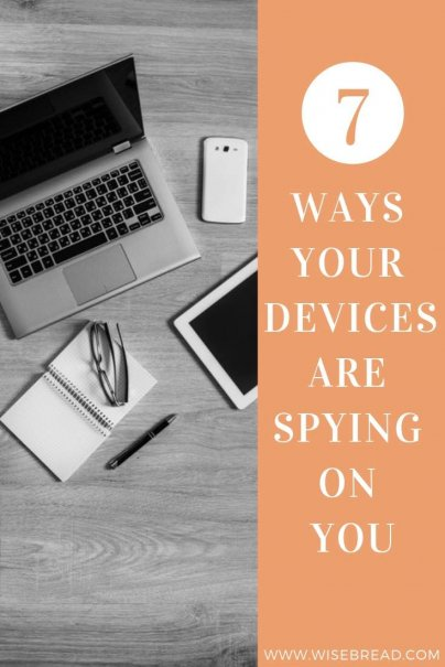 From smart TVs to your laptops, to tech toys for kids, there are a slew of common household items collecting data about our location, habits, and preferences — and some are more sinister than others. Here are the 7 ways your devices may be spying on you. #internetsecurity #technology #buggeddevices