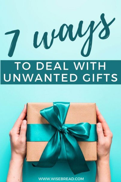 Everyone has received at least one horrible or laughably useless gift. But what should you do if you receive a gift that you don't want or can't use? Here are seven ways to deal with gifts that don't meet your needs. | #lifehacks #minimalism #recycle