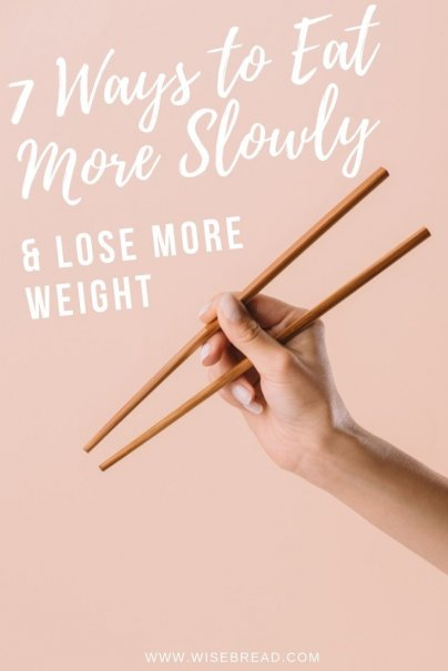 Here's what you need to know about being a slow eater, and how to implement techniques to slow yourself down when it tastes so good. You could even lose weight by getting full quicker! | #sloweating #lifehacks #weightloss