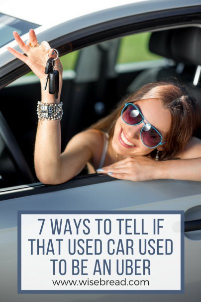 7 Ways to Tell If That Used Car Used to Be an Uber