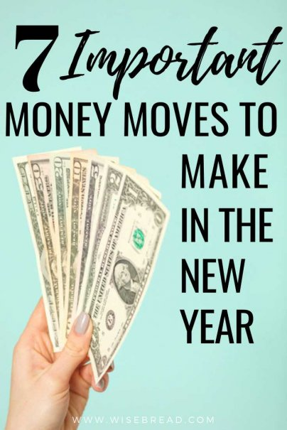 Are you looking for some great money moves to make in 2020 to get financially ahead? We've got the tips to help you budget and get your personal finances on track this year! | #investing #personalfinance #moneytips