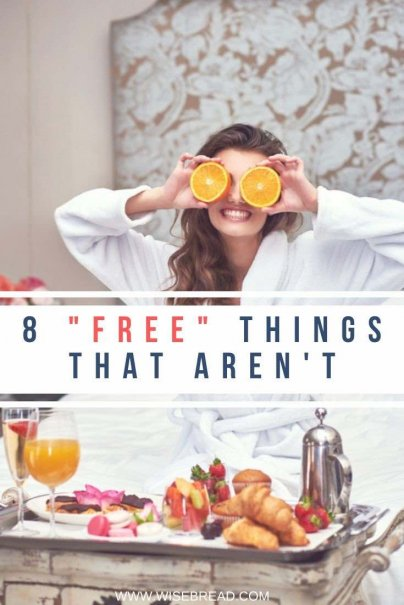 Have you won a prize? Or a free gift? Here are eight instances when something free may end up costing you in the long run. | #freegift #frugalliving #freebies
