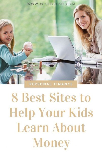 Want to teach you kids about money? We've found the sites that make learning about personal finance and money management fun and enjoyable! | #bizkids #moneytips #personalfinance