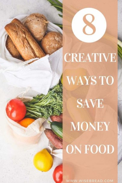 Want to know how to save money and cut your grocery budget? Here are 8 tips to get cheap food! | #budget #frugaltips #frugalliving