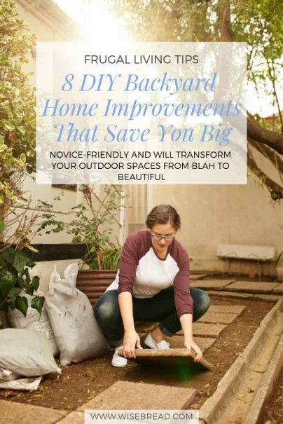 8 DIY Backyard Home Improvements That Save You Big
