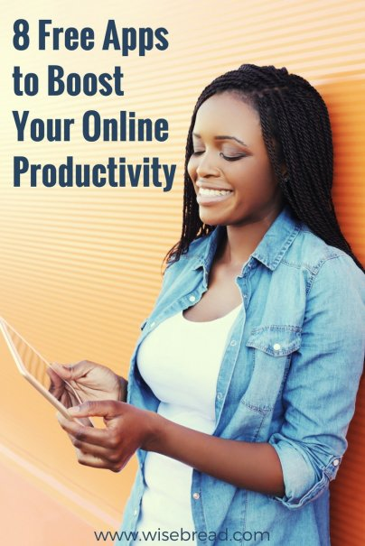 8 Free Apps to Boost Your Online Productivity