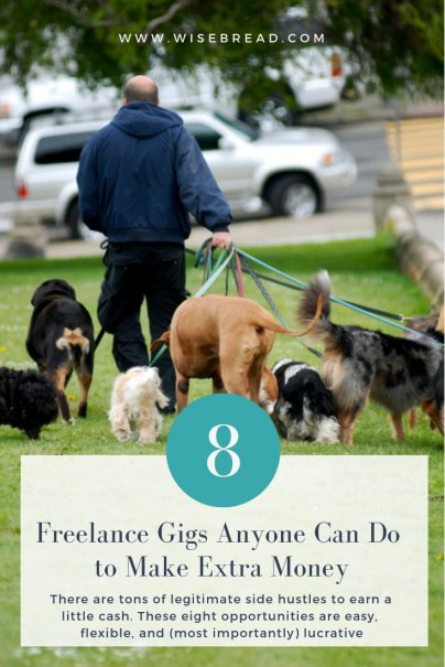 8 Freelance Gigs Anyone Can Do to Make Extra Money