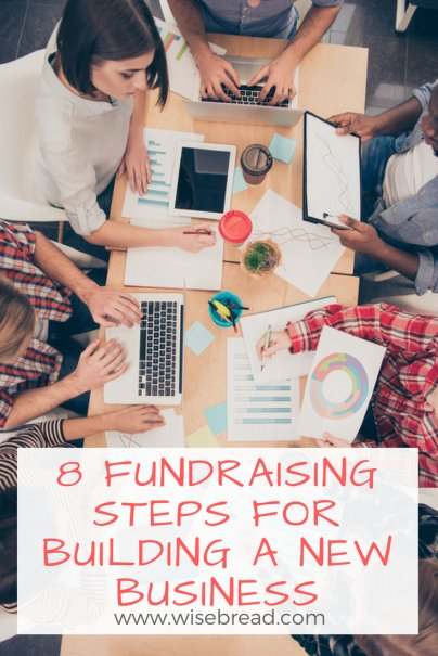 8 Fundraising Steps for Building a New Business