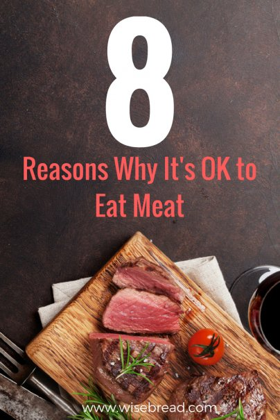 8 Reasons Why It's OK to Eat Meat