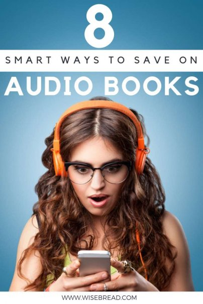 Want free or cheap audio books? Audiobooks can make a long commute or a day of household chores much more enjoyable. So that's why we've got the tips to help you save money on your next audiobook purchase! | #audiobooks #cheapaudiobooks #savemoney