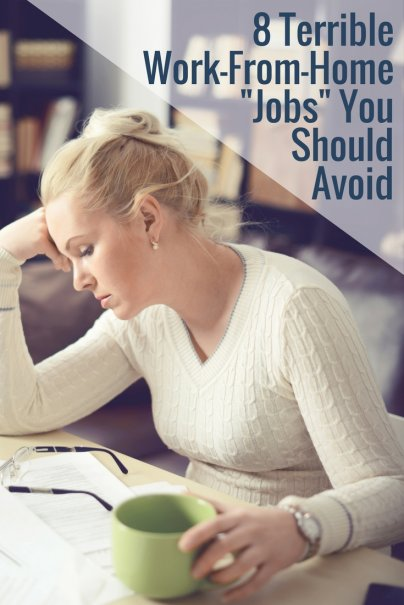 """8 Terrible Work-From-Home """"Jobs"""" You Should Avoid"""