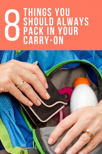 8 Things You Should Always Pack in Your Carry-On