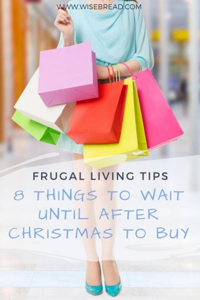 We know there is Black Friday, Cyber Monday, and free shipping day, but the sales and clearance deals after Christmas can trump them all! These are the eight best post-christmas deals worth waiting for to save you money! | #frugalliving #sales #bogo #christmasdeals
