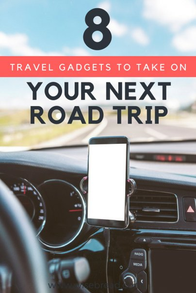 8 Travel Gadgets to Take on Your Next Road Trip