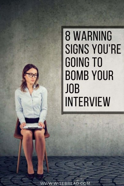 Looking to advance your career, and have a job interview lined up? There are some warning signs you need to be aware of so you don't bomb your interview! Check out these 8 things that you need to sort out before you meet your potential employers. | #jobinterview #career #careertips